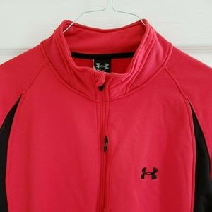 UNDER ARMOUR Heavy Fleece Zip Jacket Size XXL EUC